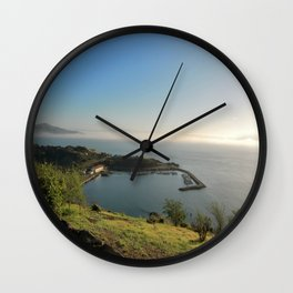 San Francisco Sausalito from the Gate Viewing Spot Wall Clock