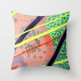 1980's Hangover Throw Pillow