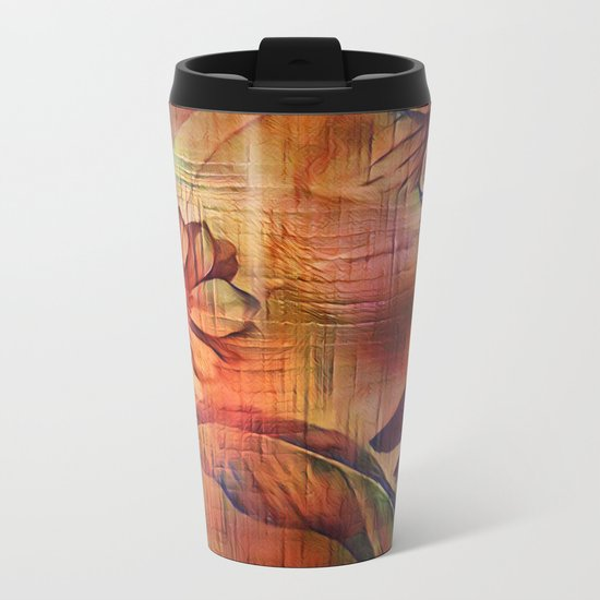 Abstractify Metal Travel Mug