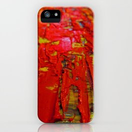Up Close & Personal with Red Townscape II, #2 iPhone Case