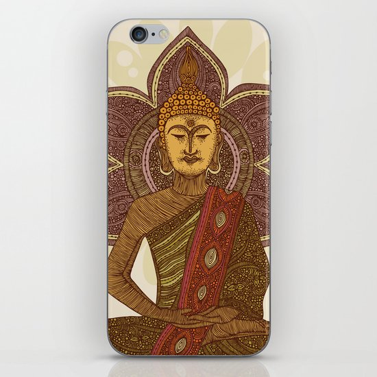 Sitting Buddha iPhone Skin