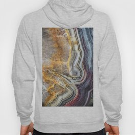 Crazy lace agate extreme closeup Hoody