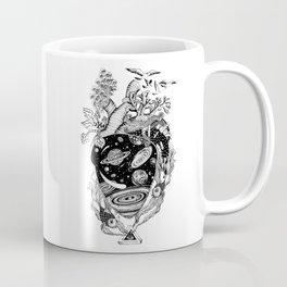 Cosmos Space Heart Coffee Mug
