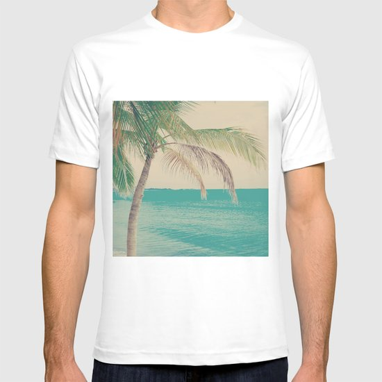 Coco Palm in the Beach  T-shirt