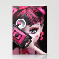 monster high Stationery Cards featuring Draculaura Monster High Dolls MHSQ by Renée