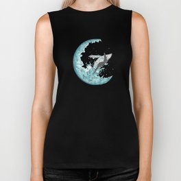 Sea Moonlight Biker Tank