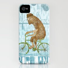Dirty Wet Bigfoot Hipster Slim Case iPhone (4, 4s)