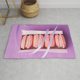 Pink macarons Rug