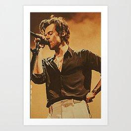 Harry sty-les pos-ter Art Print