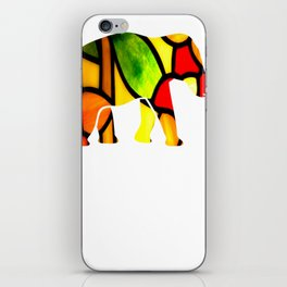Elephant Love Gift Bright iPhone Skin