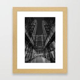 CityCenter at Night Framed Art Print