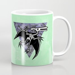Pterodactyl Fossil Coffee Mug
