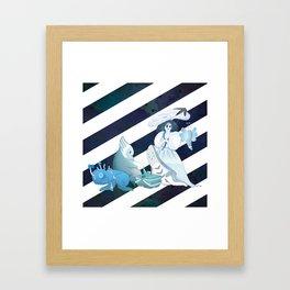 Midsummer Night Picnic 2 Framed Art Print