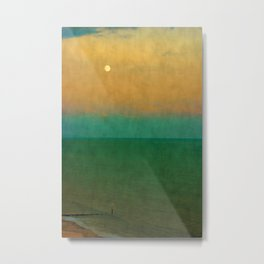 Sea ~ Moon Metal Print