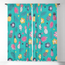 FOREVER SUMMER on MINT Blackout Curtain