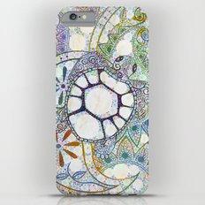 Sea Turtle Paisley  iPhone 6 Plus Slim Case