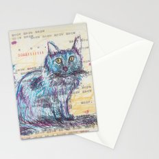 Here kitty, kitty Stationery Cards