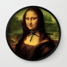 Mona Lisa Painting Wall Clock