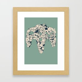 Grown Up Framed Art Print