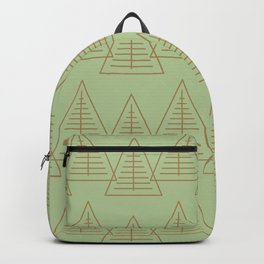 Winter Hoidays Pattern #10 Backpack