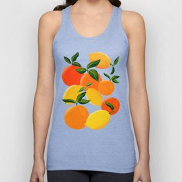Oranges and Lemons Unisex Tanktop