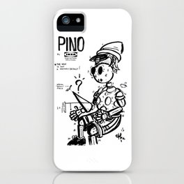 Pino in Pieces iPhone Case
