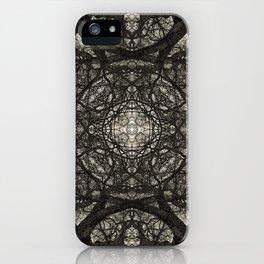 Branching Symmetry iPhone Case