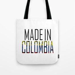 Made In Colombia Tote Bag