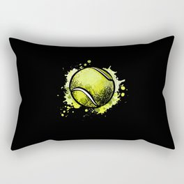 Tennis Ball Tennis Rectangular Pillow