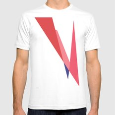Bowie White Mens Fitted Tee MEDIUM