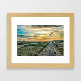 Jericoacoara National Park Dune Road Framed Art Print