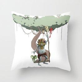 oak sage Throw Pillow