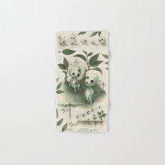Natural Histories - Forest Spirit studies Hand & Bath Towel