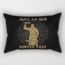 Knife Forging Blacksmith Knife Master Rectangular Pillow