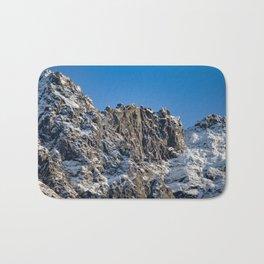 Fresh Snow-Alaskan Mountain Top Bath Mat