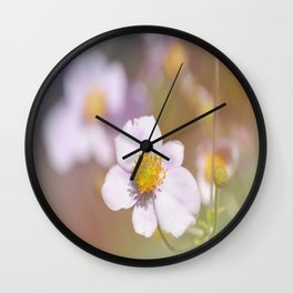 Anemone in the Garden Wall Clock