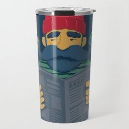 Oh Captain Travel Mug