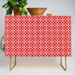 Candy Cane Pattern 2 Credenza