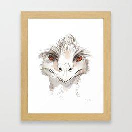 Who Emu? Framed Art Print