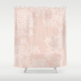 SHADE OF PALE Shower Curtain