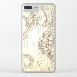 SeaUnicorn Clear iPhone Case