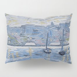 Sailboats on the Hudson Pillow Sham