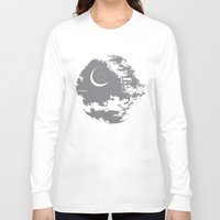 death star Long Sleeve T-shirts featuring Death Star by Krakenspirit