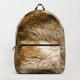 Fluffy Fur Backpack
