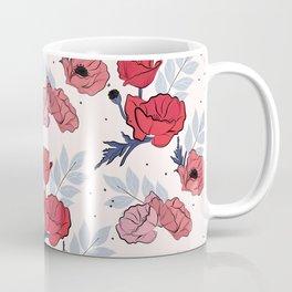 Floral crib sheet Coffee Mug