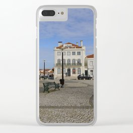 Nazaré Plaza Clear iPhone Case