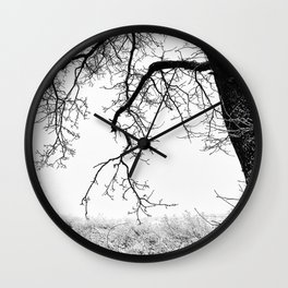 Edge Of Nothing Wall Clock