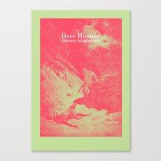 Doré Homme - Cain kills Abel Canvas Print