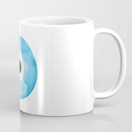 Watercolor Evil Eye Coffee Mug