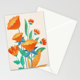 Summer Flowers I Stationery Cards